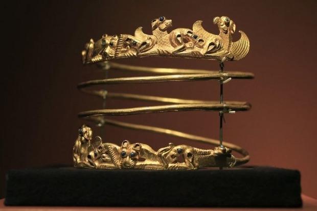 Затянувшаяся выставка украинского скифского золота