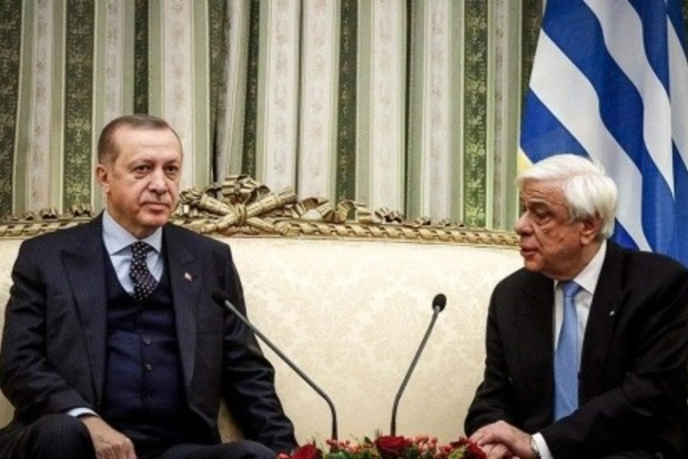 Ердоган раптово захотів віджати землі у Греції