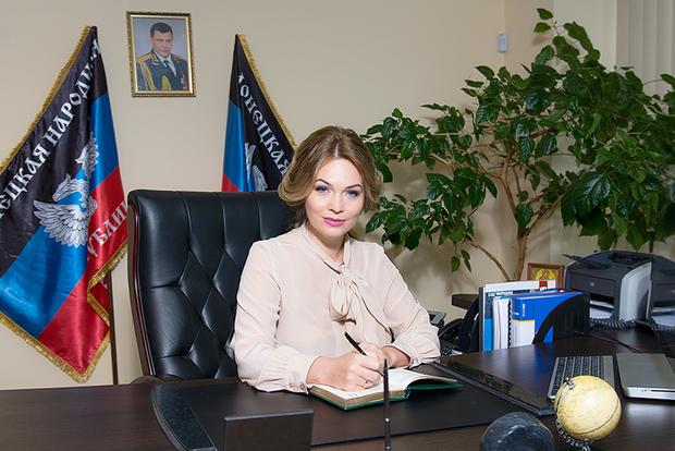 Гламурному «министру финансов ДНР» Екатерине Матющенко объявлено подозрение в финансировании терроризма