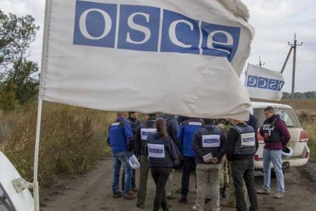 Миссия ОБСЕ зафиксировала 750 взрывов на Донбассе