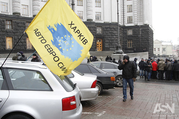 Евробляхеры берут Киев измором. Центр столицы парализован