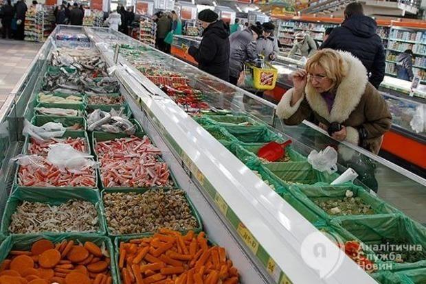Цены на продукты в райцентрах Киевщины впервые превысили столичные