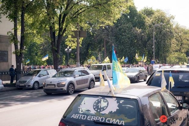 Сегодня в центре Киева будут митинговать в поддержку