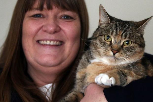 Была злющая, но стала ласковой. Как кошка дважды спасла хозяйку от рака
