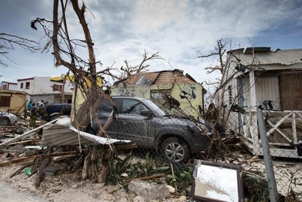 Ураган «Ирма» полностью разрушил два острова