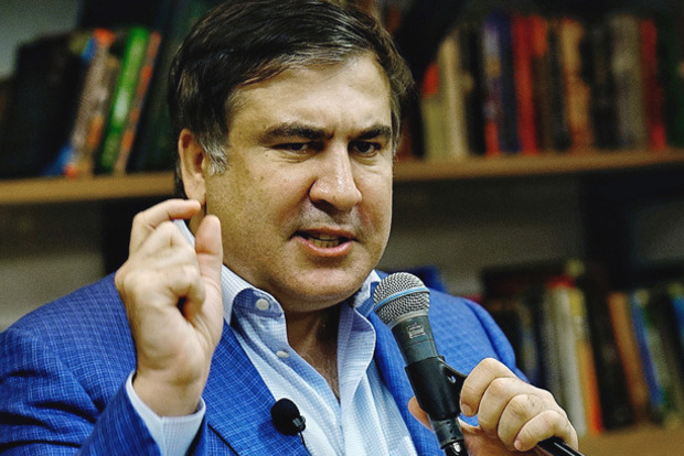 Саакашвили рассказал, где он хочет поменять одежду