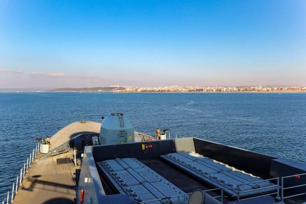 ВЧерное море вошли два корабля НАТО