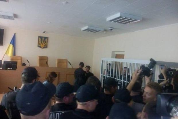 Мосийчука доставили в зал суда