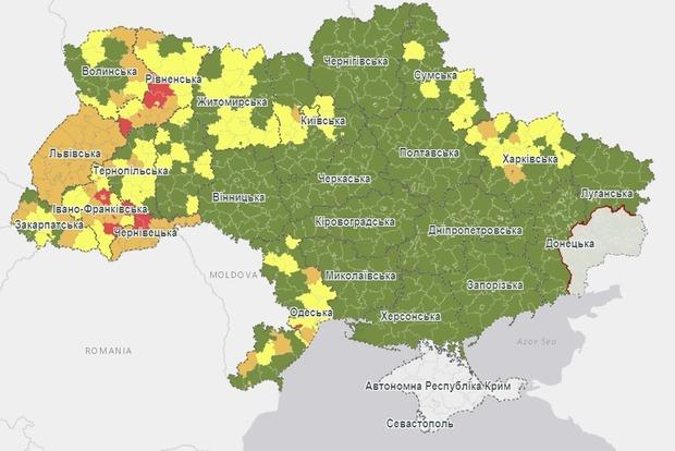 Комиссия обновила карантинные зоны в Украине: что, где и как теперь.