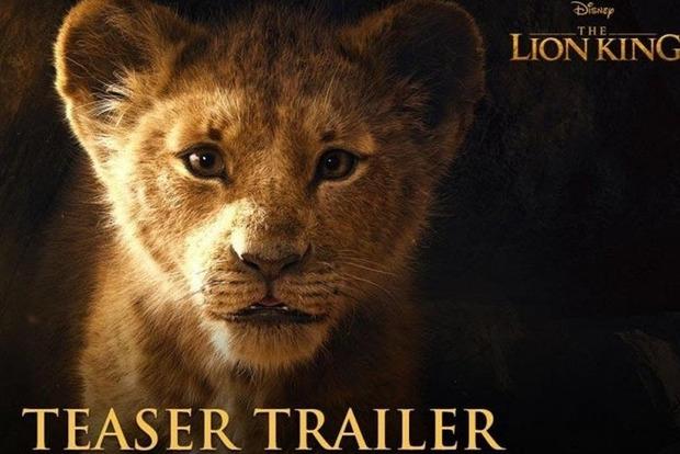 В сети появился первый тизер фильма «Король лев»