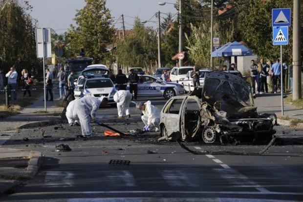 Авто популярной актрисы и телеведущей подорвали посреди Белграда