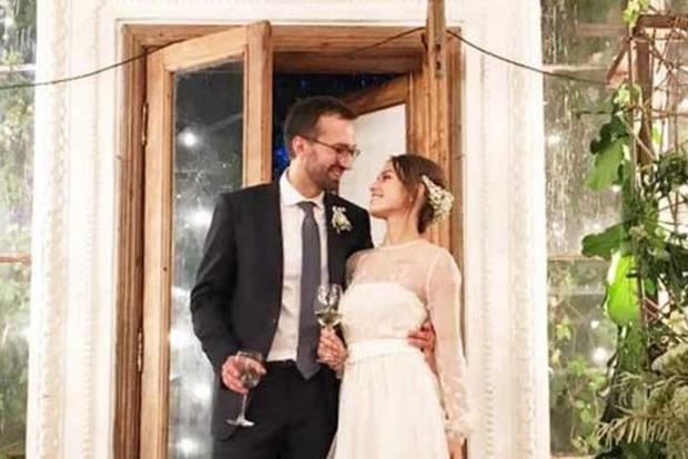 Нардеп Лещенко женился: фото со свадьбы