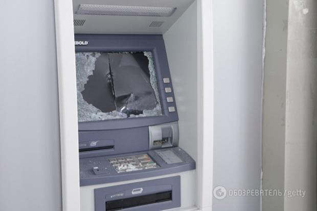 Из банкомата психбольницы в Киеве украли полмиллиона гривен