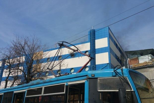 УРосії загорівся щеодин торговий центр (відео)
