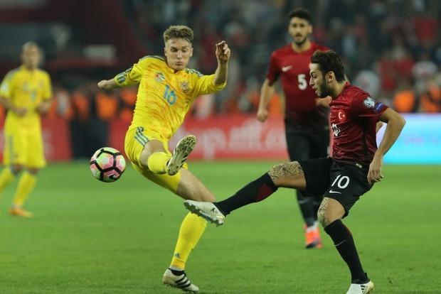Букмекеры считают сборную Украины фаворитом в матче против Турции