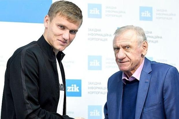 Форвард Гладкий вновь будет играть за «Карпаты»
