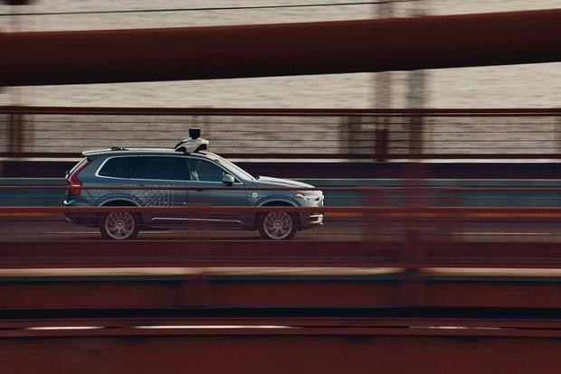 В Калифорнию вернули беспилотные машины Uber