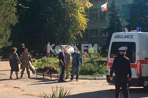В колледже оккупированной Керчи взорвали бомбу