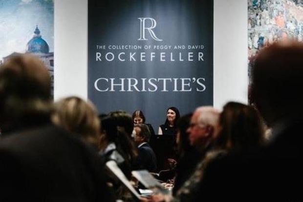 Коллекция Рокфеллера ушла с молотка за 830 млн долларов