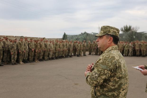 Военным в зоне АТО увеличат выплаты уже за сентябрь – Полторак
