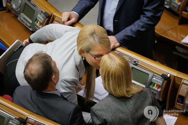 Тимошенко не готова к коалиции, а Ляшко – торгуется за вице-спикера