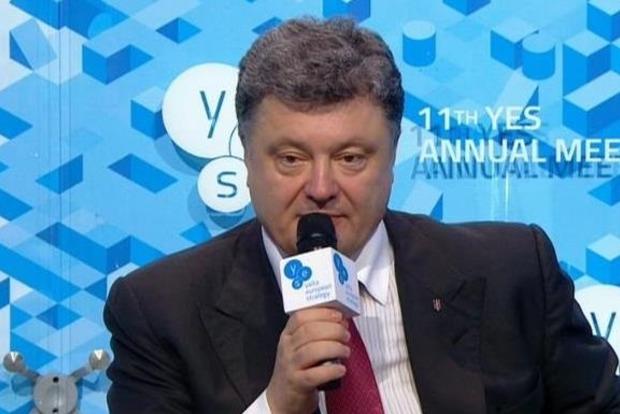 Порошенко: Мы должны сделать невозможными фейковые выборы на Донбассе