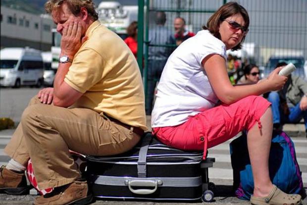 Туристы застряли в аэропорту Киева: туроператор не оплатил рейсы - СМИ