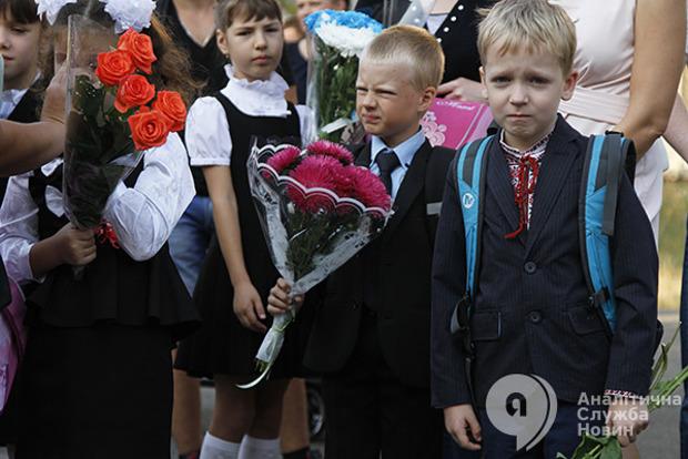 В Украине назвали точное количество первоклассников