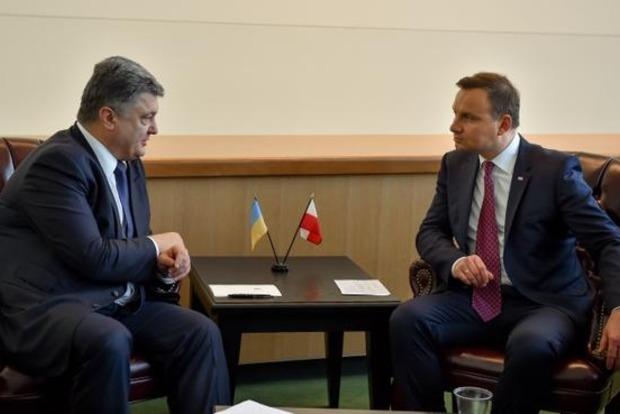 Дуда: «Замораживание» конфликта на Донбассе недопустимо
