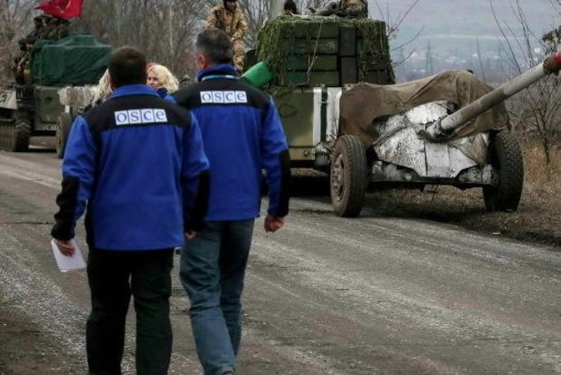 Практически 400 взрывов случилось наДонбассе засутки— СММ ОБСЕ