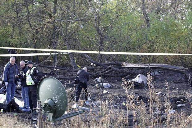 ГБР начало расследование обстоятельств авиакатастрофы в Харьковской области