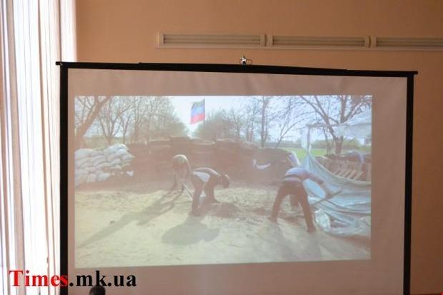 В Николаеве студентам показали фильм с антиукраинской пропагандой