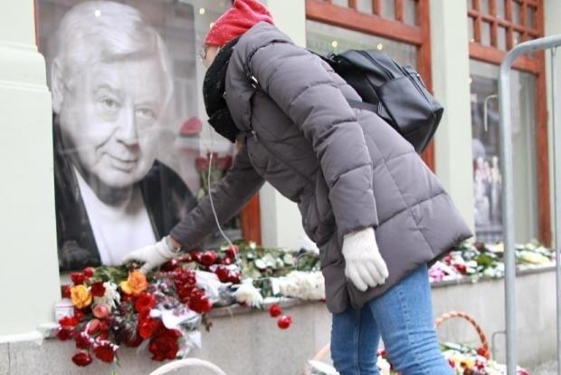 Похороны Олега Табакова. Как это было (фоторепортаж)