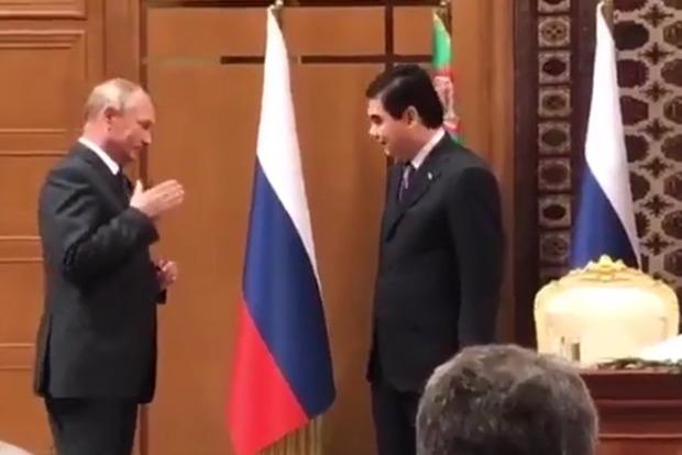 Российский диктор впал в ступор от отчества президента Туркменистана