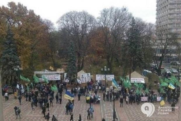 Здание парламента взяли под усиленную охрану