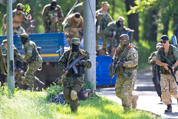 Донецк окутал трупный запах