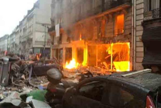 В результате взрыва в Париже погибли четыре человека, ранены 30