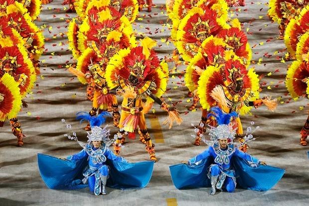 В Бразилии начался карнавал
