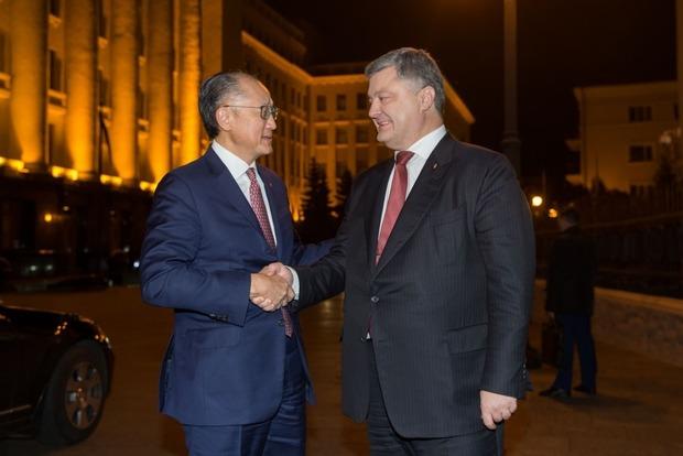 Президент встретился с главой Всемирного банка