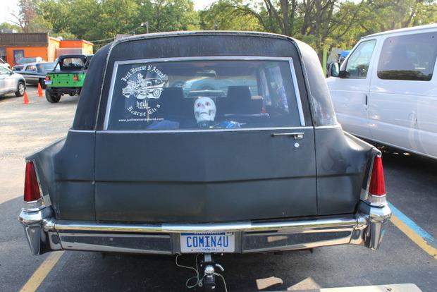 В Америке прошел фестиваль машин для перевозки гробов
