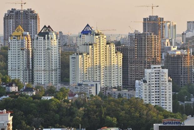 В Киеве жилья в новострое в 10 раз больше, чем желающих его купить