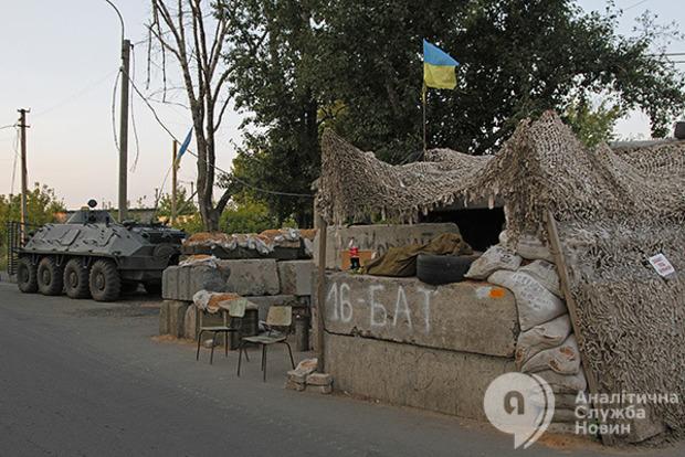 За сутки боевики ЛДНР обстреляли позиции ВСУ 32 раза