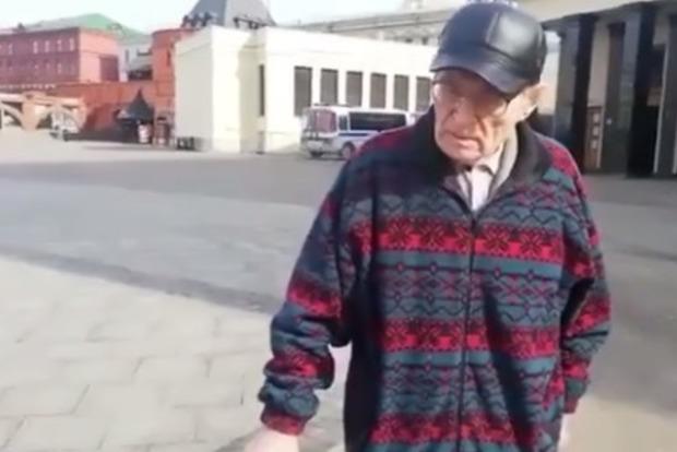 Иди ты н...й, русский!. Донецкий старик без маски подорвал Сеть