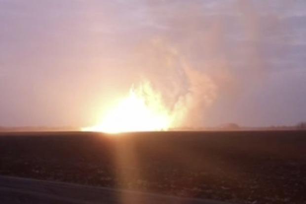 Взрыв на газопроводе в Лубнах