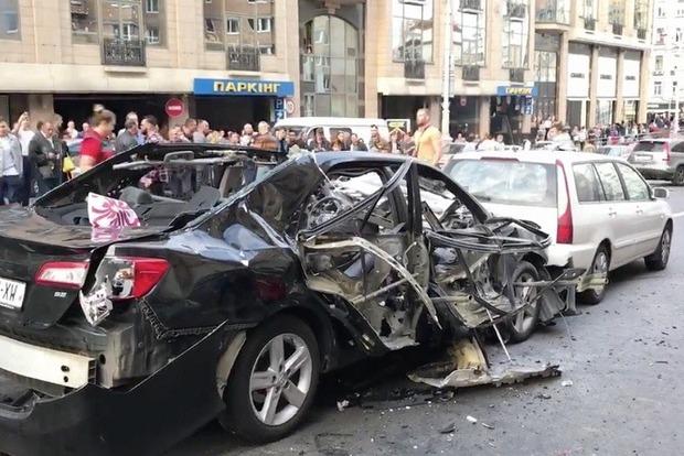 У полиции есть видео закладки взрывчатки в автомобиль Тимура Махаури