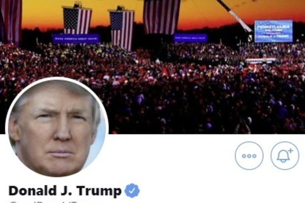 Twitter заморозил аккаунт Трампа