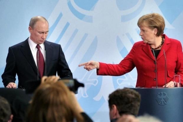 Стало известно, о чем говорили Меркель и Путин на встрече в Сочи