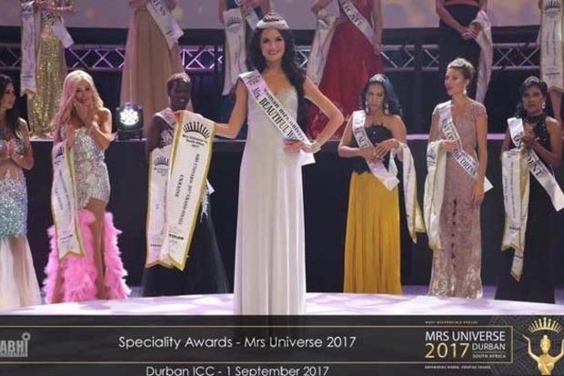 Украинку наградили титулом самой красивой женщины Вселенной