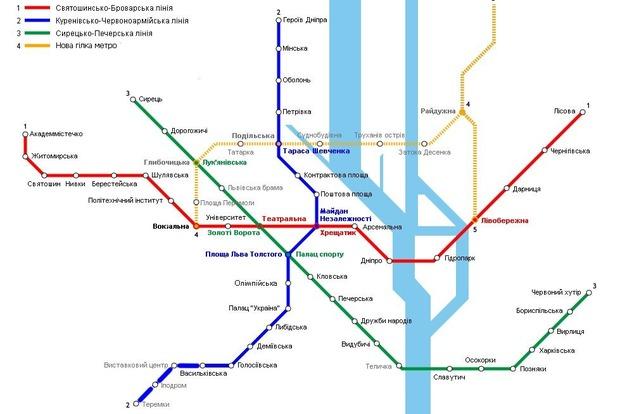 В КГГА рассказали, какой будет ветка метро на Троещину