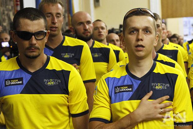 Украинскую команду провели на Игры непокоренных в Канаду